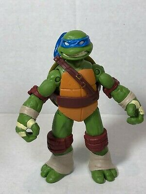 "2013 TMNT Teenage Mutant Ninja Turtles Leonardo action figure 4.5/"" #lk8"