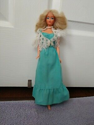 1976 Deluxe Quick Curl Barbie Doll Markings On Buttocks