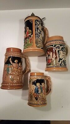 Beer Steins - Set of 4