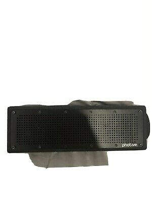 Photive S7 Water-proof Rugged Wireless Bluetooth® speaker with HD Clear Sound