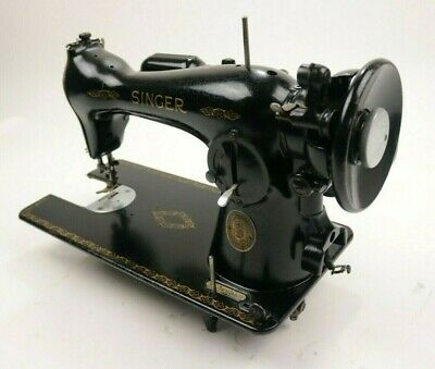 Vintage 1952 Singer Model 15 Industrial Direct Drive Sewing Machine For Parts