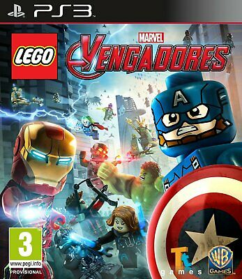 Lego® Marvel's Avenger, Ps3 (Playstation 3), Castellano, Store España (Digital)
