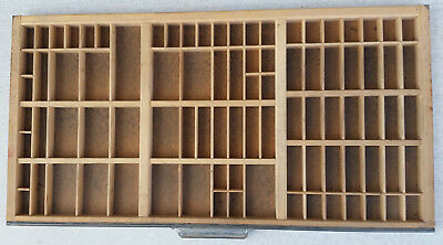 Printer's Type Tray Approx  17X32
