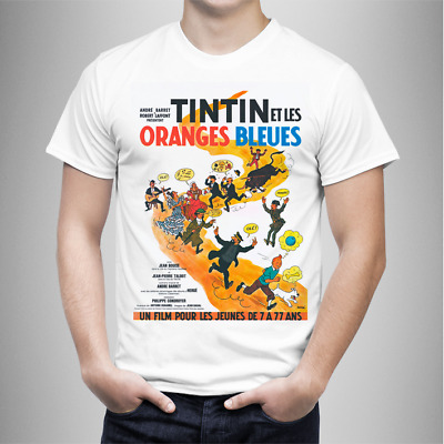Camiseta French Film Tintin Et Les Oranges Bleues - T-Shirt Tee