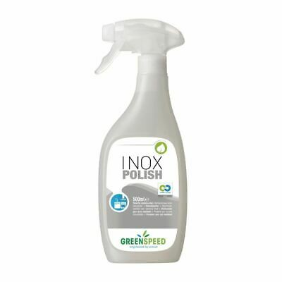 Greenspeed Stainless Steel Polish - Plant Based - Ready to Use - 500ml x 6