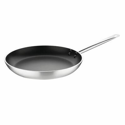 Vogue Frying Pan in Silver - Aluminium with Non Stick Teflon Coating - 360mm