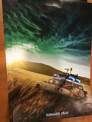 Lot of 10 GHOSTBUSTERS AFTERLIFE Summer 2020 2-Sided Advance Posters 11x17