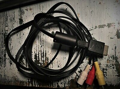 Original Playstation Video Cable - Cavo Audio  AV Sony  3 2 One PSX PS2 PS3 rca