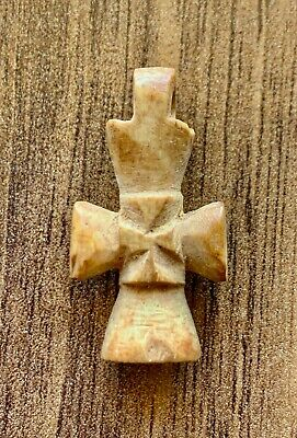 Early byzantine carved decorated cross. A rarest excellent artifact!