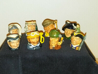 Royal Doulton Toby Mini Jugs Collection