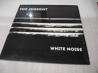 """THE INSIGHT - White Noise - Double Vinyl LP 12"""" Limited Edition New """"Signed"""""""