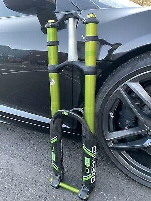 DVO 2016 EMERALD 27.5-29 Fork Suspension Sticker Decal Kit Adhesive Lime Green