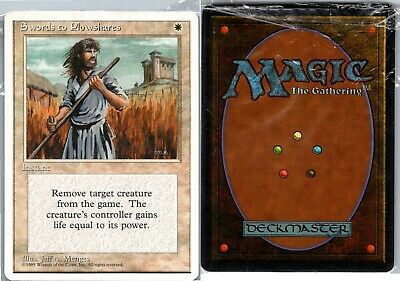 Magic the Gathering MTG Iconic Masters Swords to Plowshares 036//249