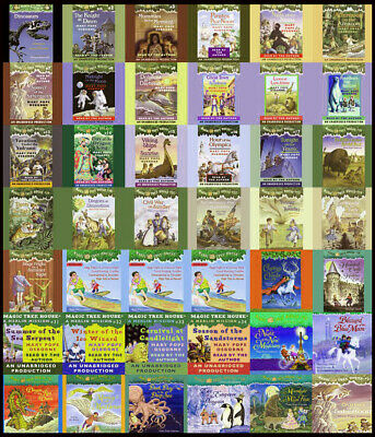 Magic Tree House collection Books Box Set 1-55 by Mary Pope Osbourne (E-βOOK) ✅