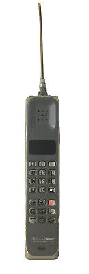 Cellularone Ultra Classic By Motorola Vintage Brick Phone Portable W/Charger Tan