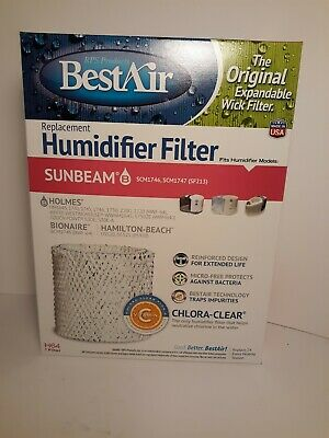 BestAir H55, Holmes Replacement, Paper Wick Humidifier