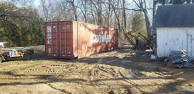 "Shipping Container  40 and 45 ft high cube 9'6"" Wind and watertight for storage"