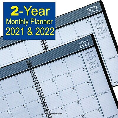 2021 & 2022 House of Doolittle 2620-02 HOD262002 2-Year Monthly Planner 8.5x11""