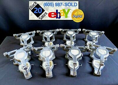 Lot of 8 Dental Articulators Shofu Handy