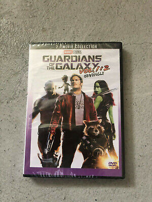 Guardians of the Galaxy 1 and 2 DVD Box Set Bundle Brand New Marvel Movies!