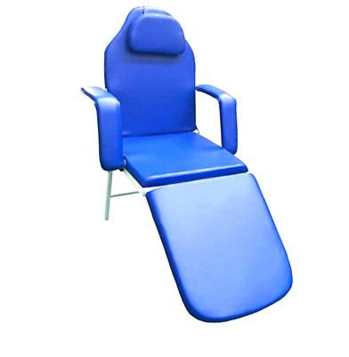 Dental Folding Chair Portable With Carry Case - Blue
