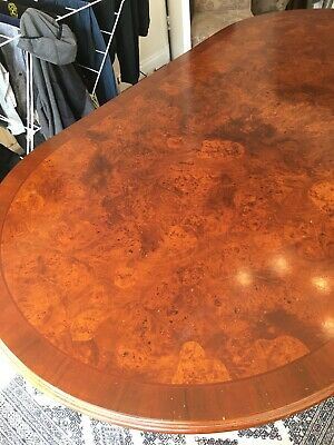 Regency Antique Oval/Rectangle Dining Table