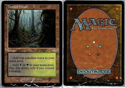 3x Tainted Wood PL MTG Torment TO Magic Gathering