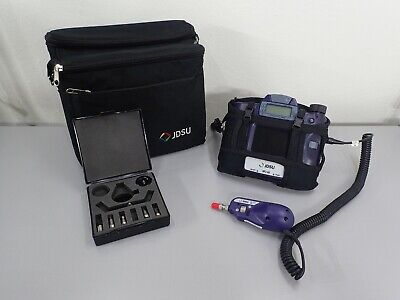 JDSU VIAVI HP2-60-P2 Microscope with FBP Probe w/ Case and Tip Set