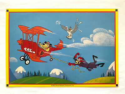 Hanna Barbera Catch That Pigeon Muttley ! Print Dastardly Wacky Races