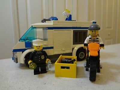 Lego 3 New Police Officer Fireman and Robber with Gun and Microphone