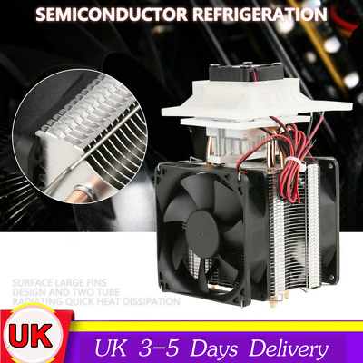 12V 72W Electronic Semiconductor Refrigeration Space/ pet Cooler DIY Air Cooling