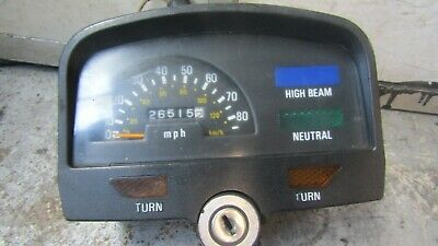 yamaha sr125  clocks speedometer