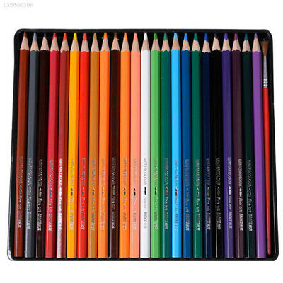 Colored Pencils 24 Colors Basswood Writing Colour Pen Drawing Students Durable