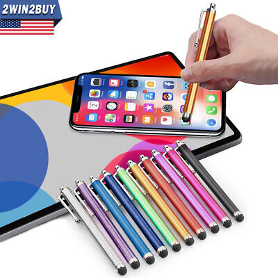 10Pcs Universal Touch Screen Stylus Pen For iPhone iPad Samsung Phone Tablet US
