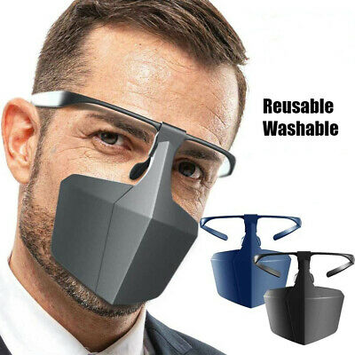 Face Shield Protection Mouth Cover Cycling Dust-Proof Anti Fog Droplets Reusable