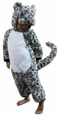 Child's costume play time 100cm tall snow leopard