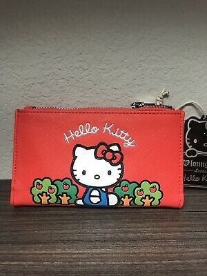 Loungefly Hello Kitty Red Wallet / Coin Purse Bag Sanrio
