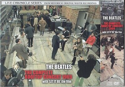 The Beatles / The Complete Rooftop Concert With Let It Be The Film / 3CD+2DVD