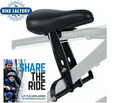 CHILD SEAT Little Explorer Top Tube Bicycle Child Seat For Bike - Fast P&P