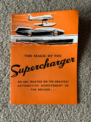 1936 Graham-Paige  Magic Of The Supercharger
