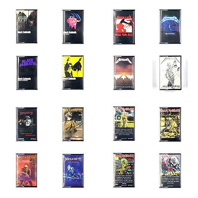 BUILD UR OWN Cassette Lot Heavy Metal - Black Sabbath, Metallica, Maiden + More!