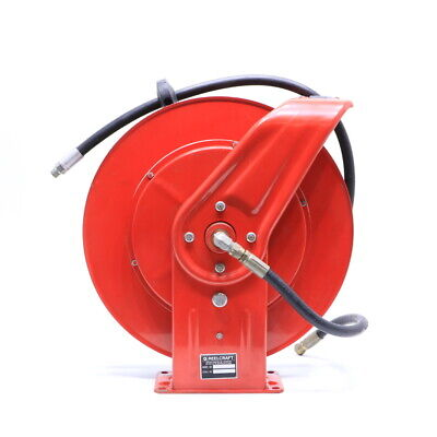 * Reelcraft 7830 Omp Pneumatic Retractable Hose Reel