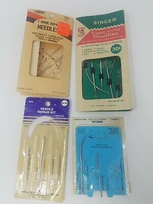 Vintage Sewing Machine and Repair Needles Singer Risdon 15 different Needles