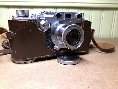 Laser Cut Leica III F Moroccan Replacement Leatherette Cover