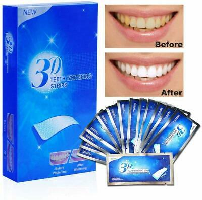 3D Teeth Whitening Strips Professional White Up To 2 Week Supply Tooth Bleaching