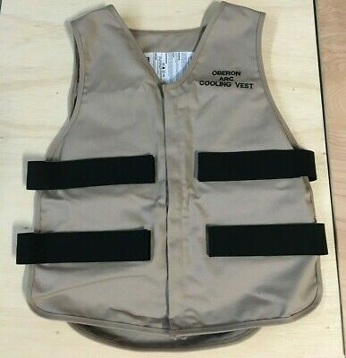 Oberon CV - ARC Electric Arc Flash Cooling Vest & Cooling Packs