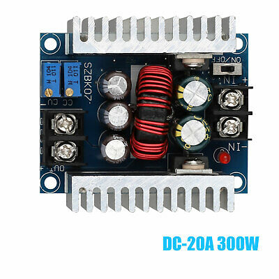 DC-DC Converter 20A300W Step up Step down Boost Power Adjustable Charger HU