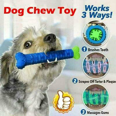 Chew Toy Dog Toothbrush Pet Molar Tooth Cleaning Brushing Stick Doggy Puppy~