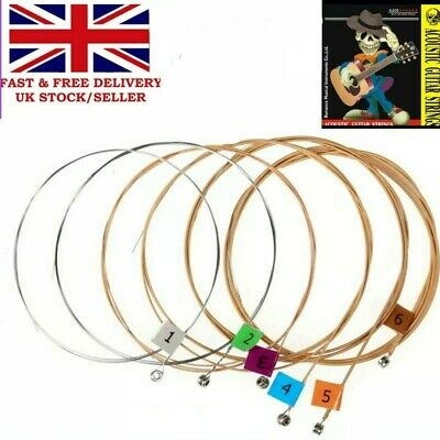 ACOUSTIC/ SEMI GUITAR 13-54s Medium Gauge Phosphor Bronze wound/steel strings