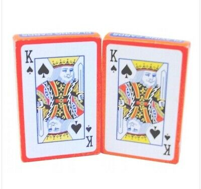 2x PROFESSIONAL PLASTIC COATED  PLAYING CARDS